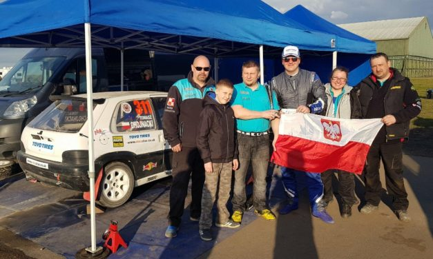 """Tomasz Chojnacki Rallycross Team"" the first win of this season."