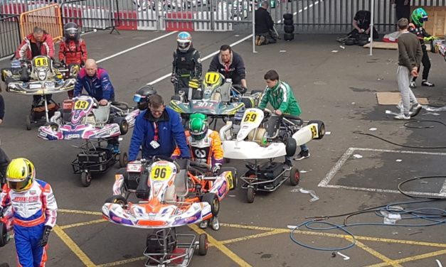 Hamera  debut w Super One Seriess – British Karting Championship